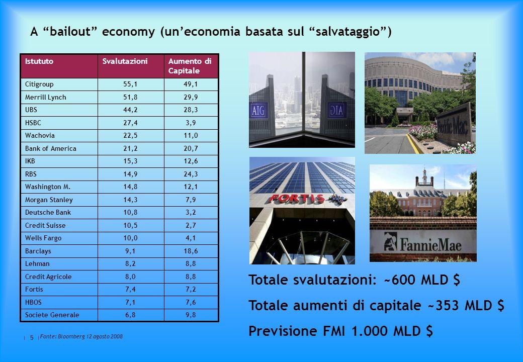 A bailout economy (un'economia basata sul salvataggio )