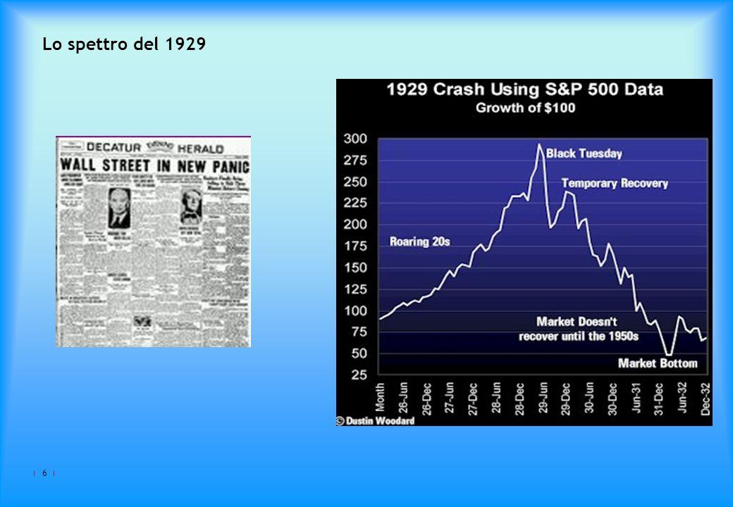 Lo spettro del 1929