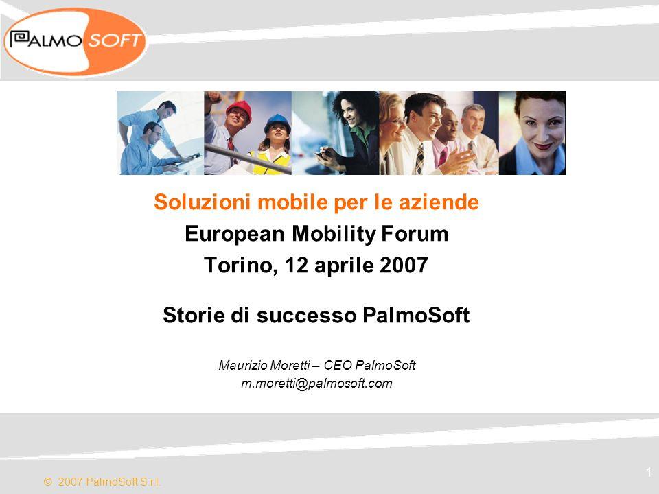 Soluzioni mobile per le aziende European Mobility Forum