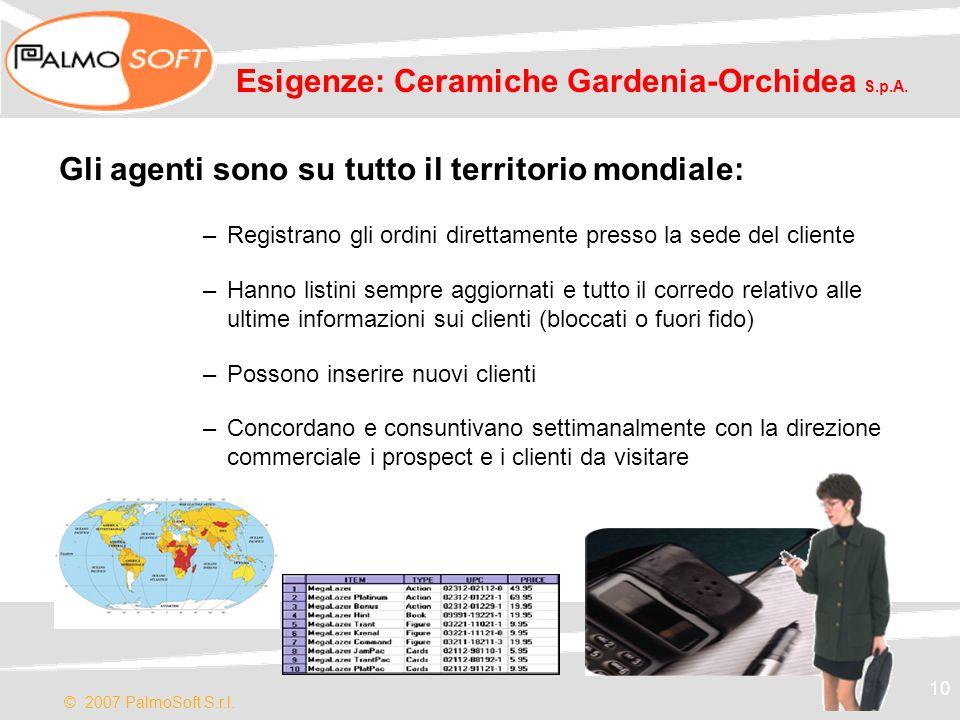 Esigenze: Ceramiche Gardenia-Orchidea S.p.A.