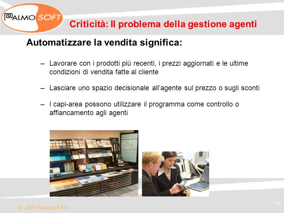 Criticità: Il problema della gestione agenti