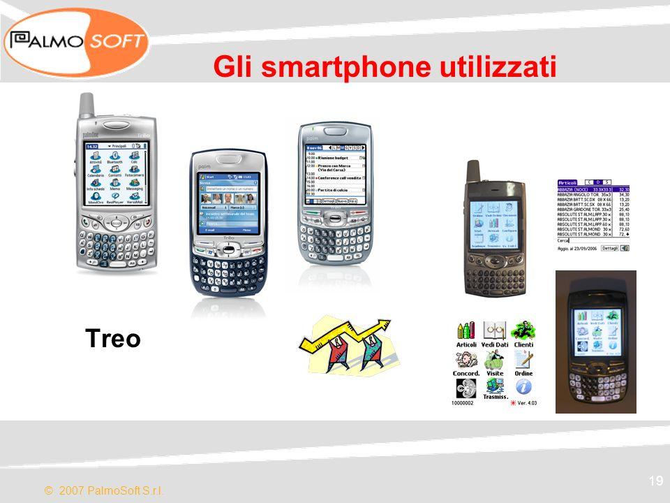 Gli smartphone utilizzati