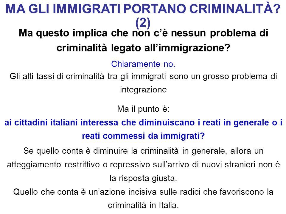 MA GLI IMMIGRATI PORTANO CRIMINALITÀ (2)