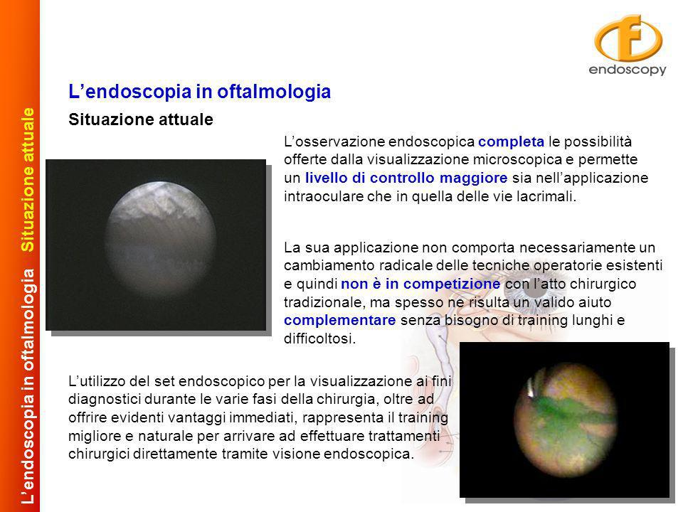 L'endoscopia in oftalmologia