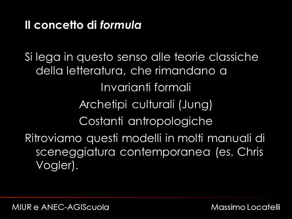 Archetipi culturali (Jung) Costanti antropologiche