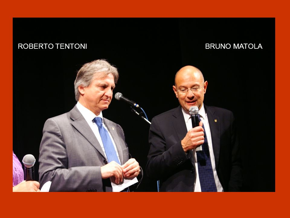ROBERTO TENTONI BRUNO MATOLA