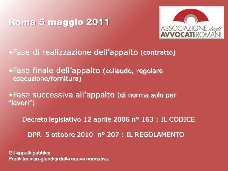 Decreto legislativo 12 aprile 2006 n° 163 : IL CODICE