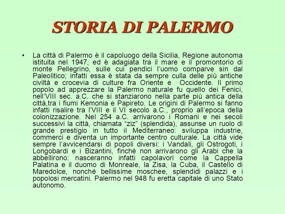 STORIA DI PALERMO