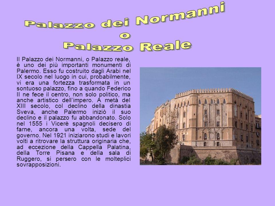 Palazzo dei Normanni o Palazzo Reale