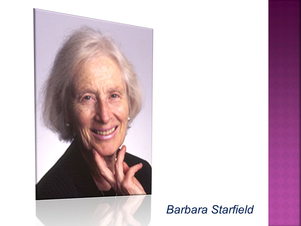 Barbara Starfield