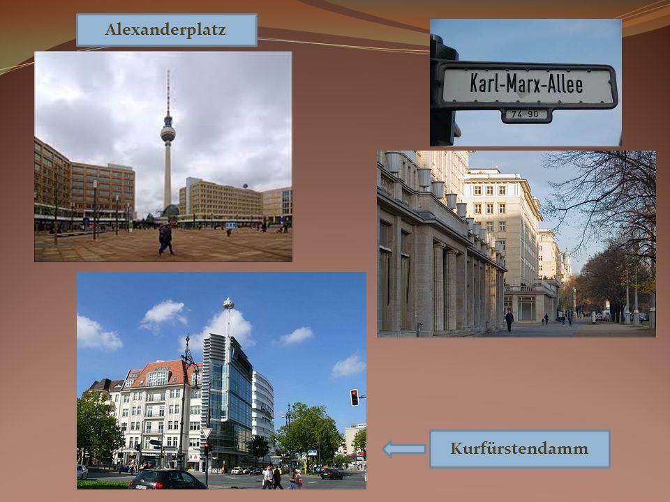 Alexanderplatz Kurfürstendamm