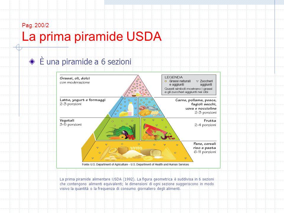 Pag. 200/2 La prima piramide USDA