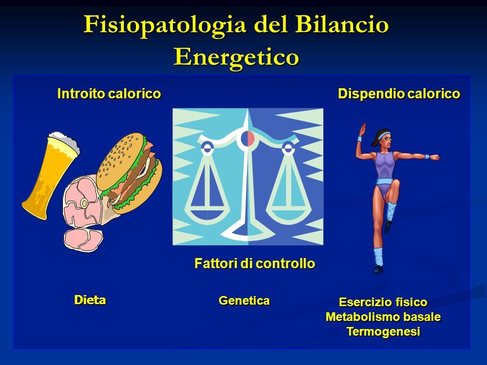 Fisiopatologia del Bilancio Energetico
