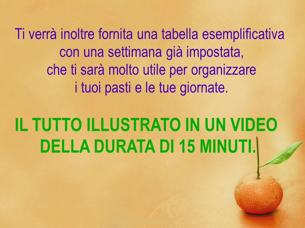 IL TUTTO ILLUSTRATO IN UN VIDEO