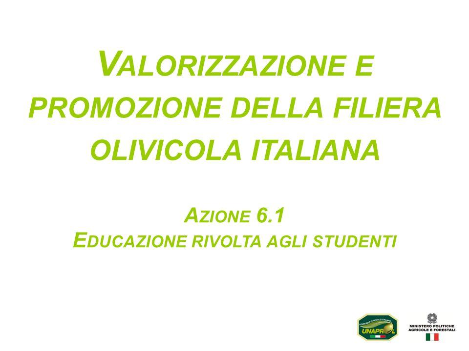 Valorizzazione e promozione della filiera olivicola italiana
