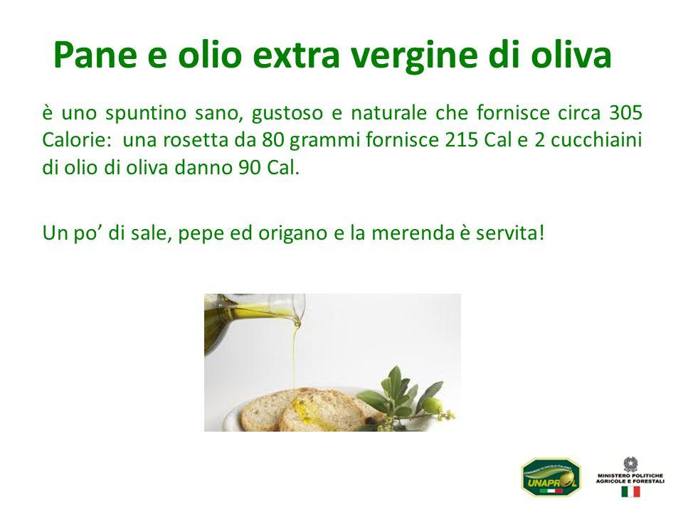 Pane e olio extra vergine di oliva