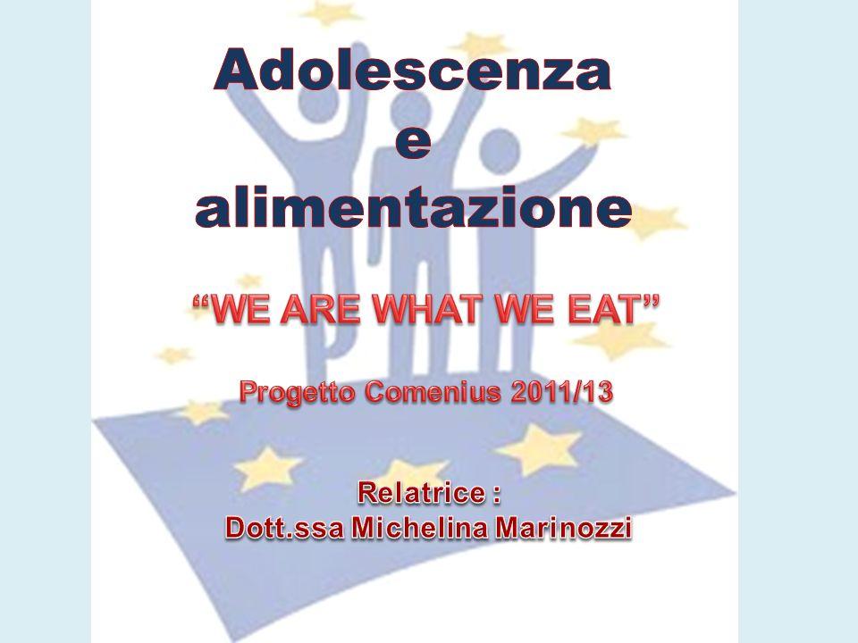 Adolescenza e alimentazione Dott.ssa Michelina Marinozzi