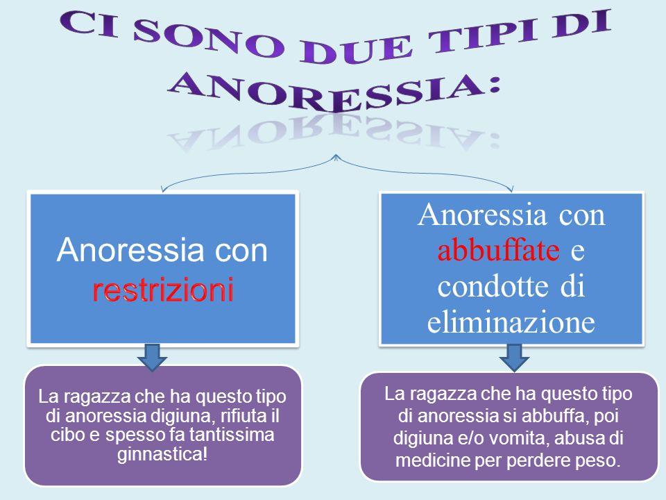 Ci sono due tipi di Anoressia: