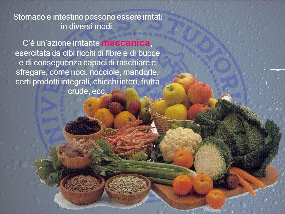 Stomaco e intestino possono essere irritati in diversi modi.