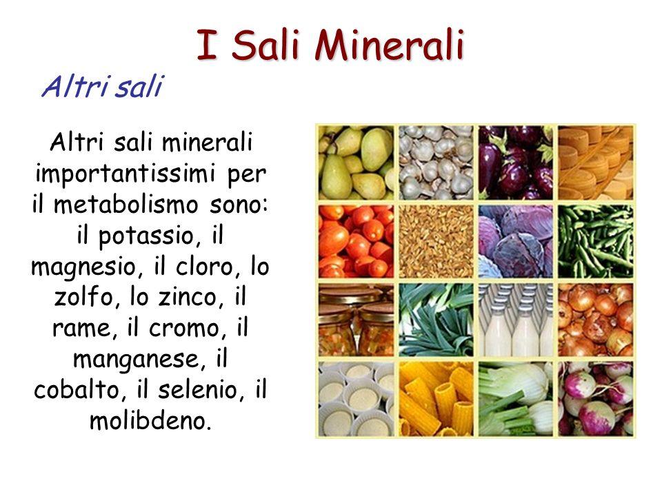 I Sali Minerali Altri sali