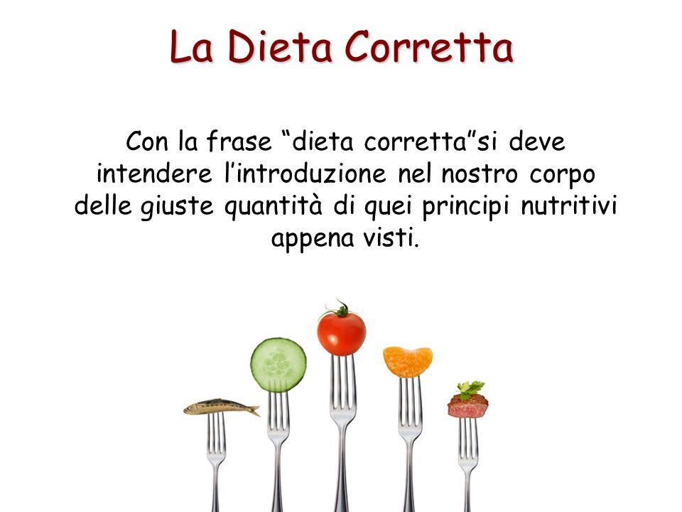La Dieta Corretta