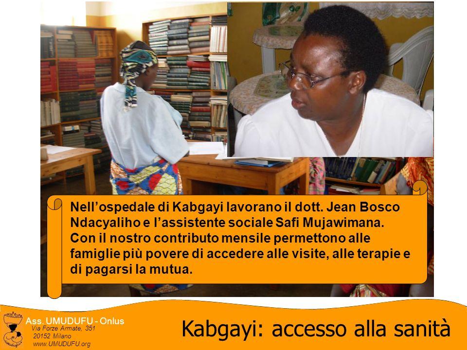 Kabgayi: accesso alla sanità