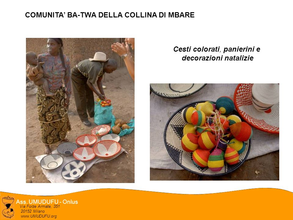 COMUNITA' BA-TWA DELLA COLLINA DI MBARE