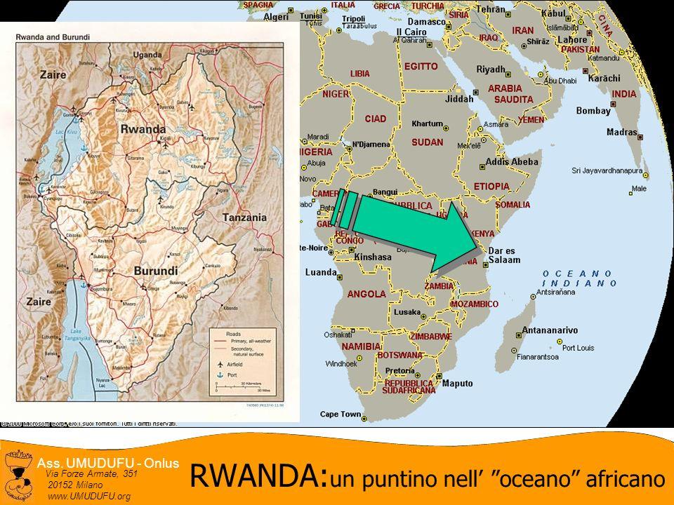 RWANDA:un puntino nell' oceano africano
