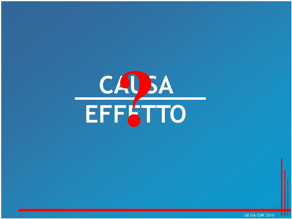CAUSA EFFETTO GB ISA-CNR 2010