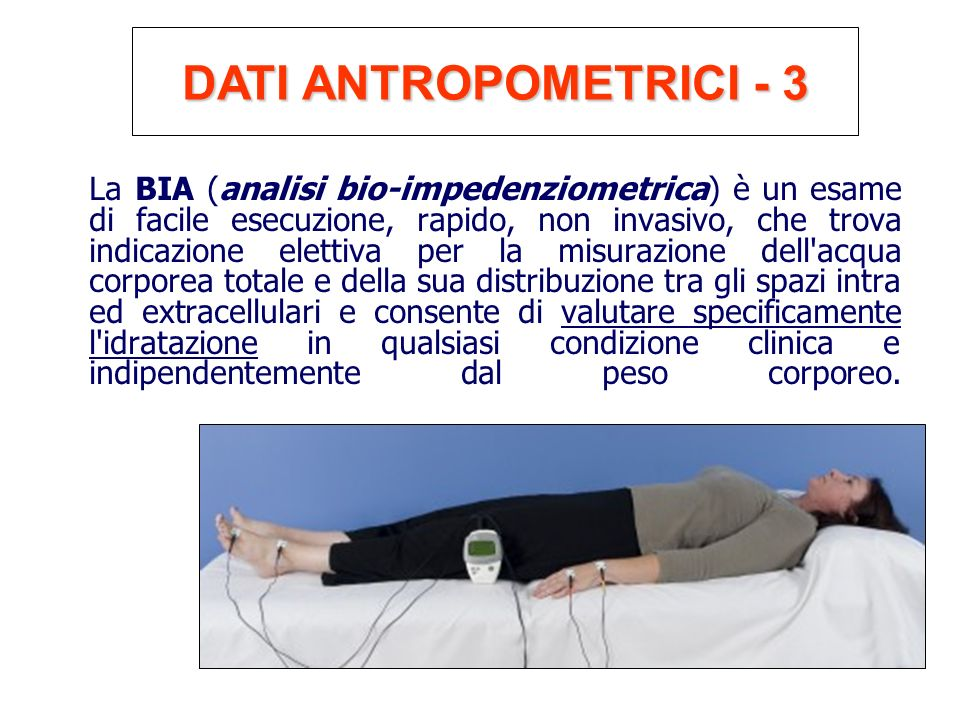 DATI ANTROPOMETRICI - 3