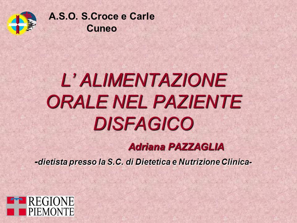 -dietista presso la S.C. di Dietetica e Nutrizione Clinica-