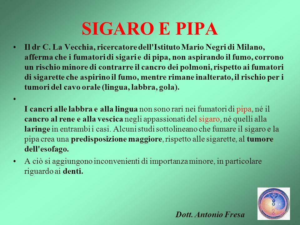 SIGARO E PIPA