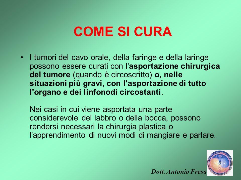 COME SI CURA