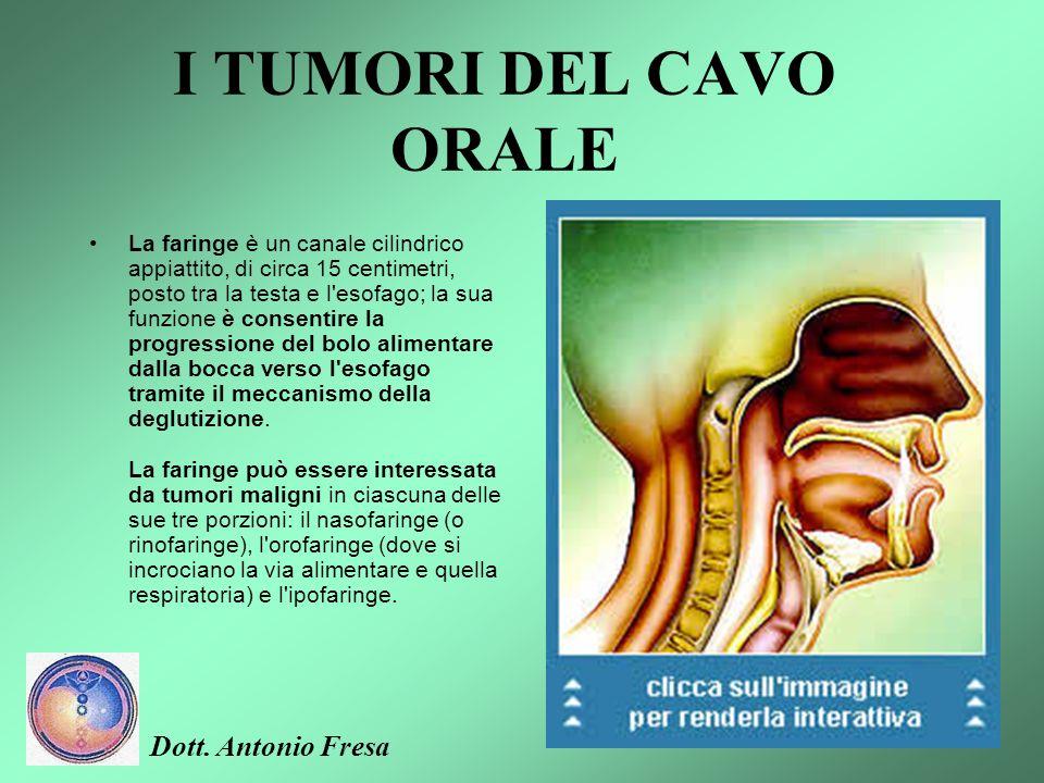 I TUMORI DEL CAVO ORALE Dott. Antonio Fresa