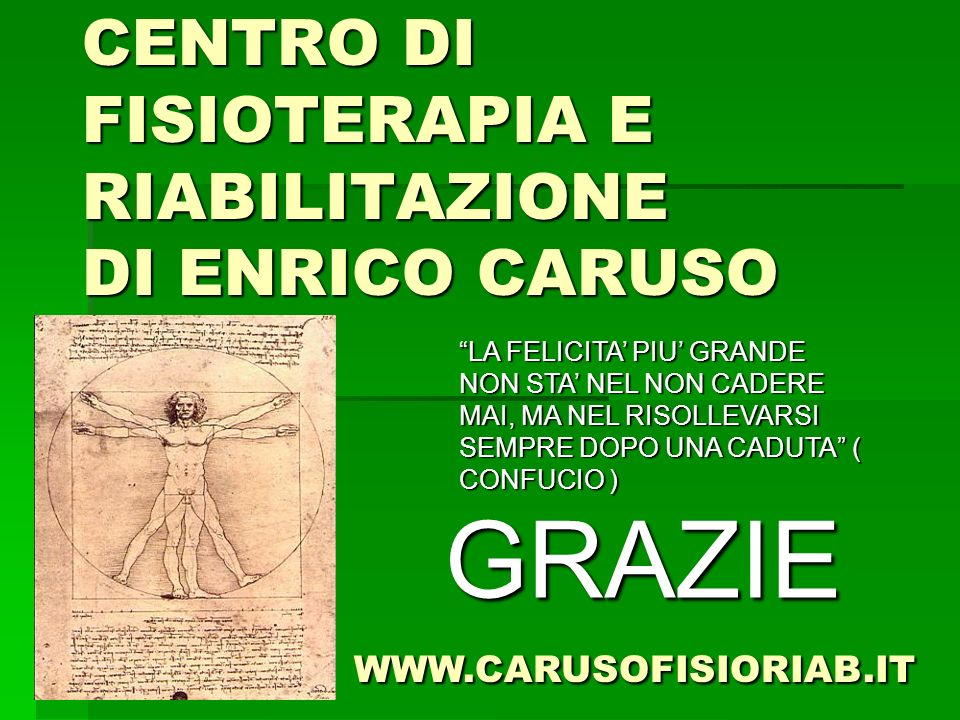 CENTRO DI FISIOTERAPIA E RIABILITAZIONE DI ENRICO CARUSO
