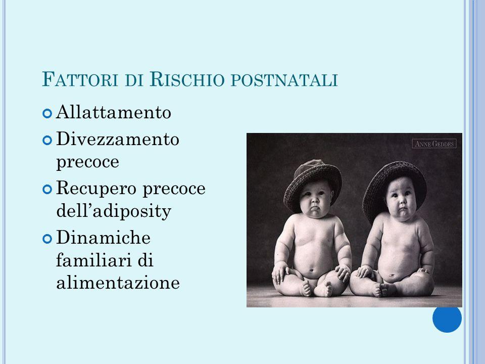 Fattori di Rischio postnatali