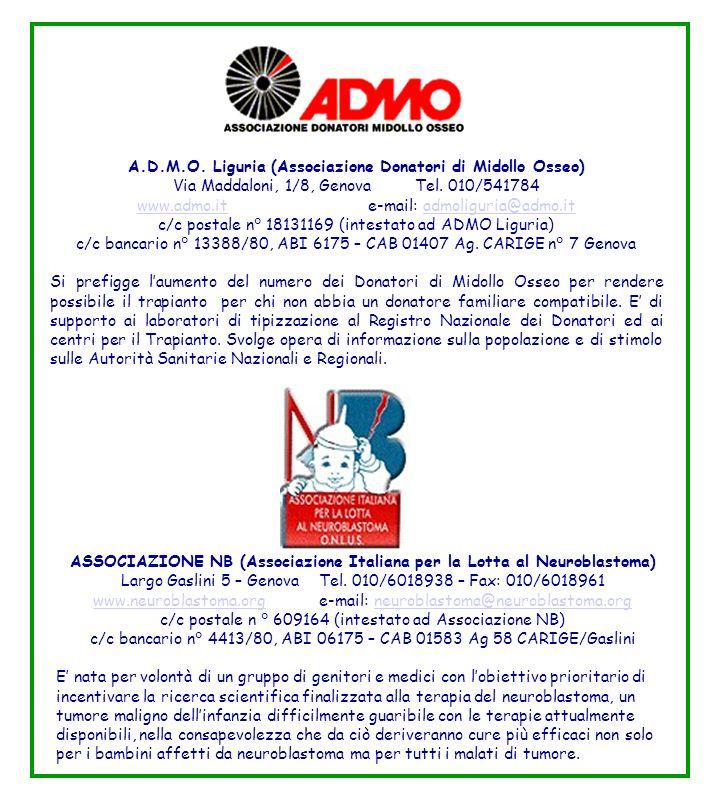 A.D.M.O. Liguria (Associazione Donatori di Midollo Osseo)