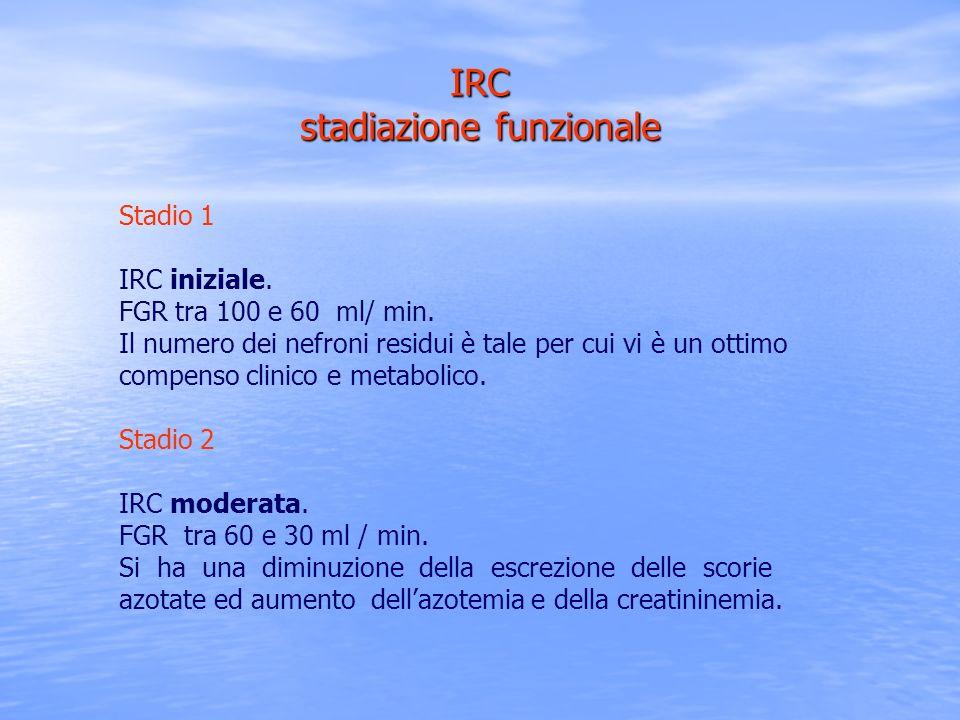 IRC stadiazione funzionale