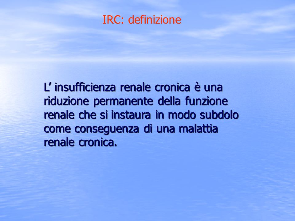 IRC: definizione