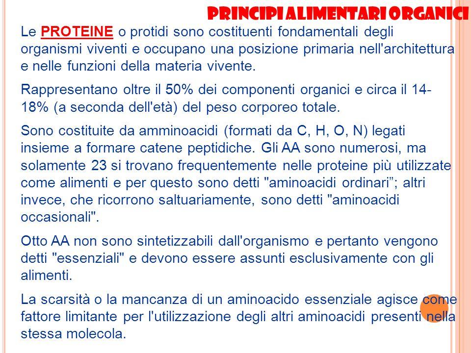 Principi alimentari organici
