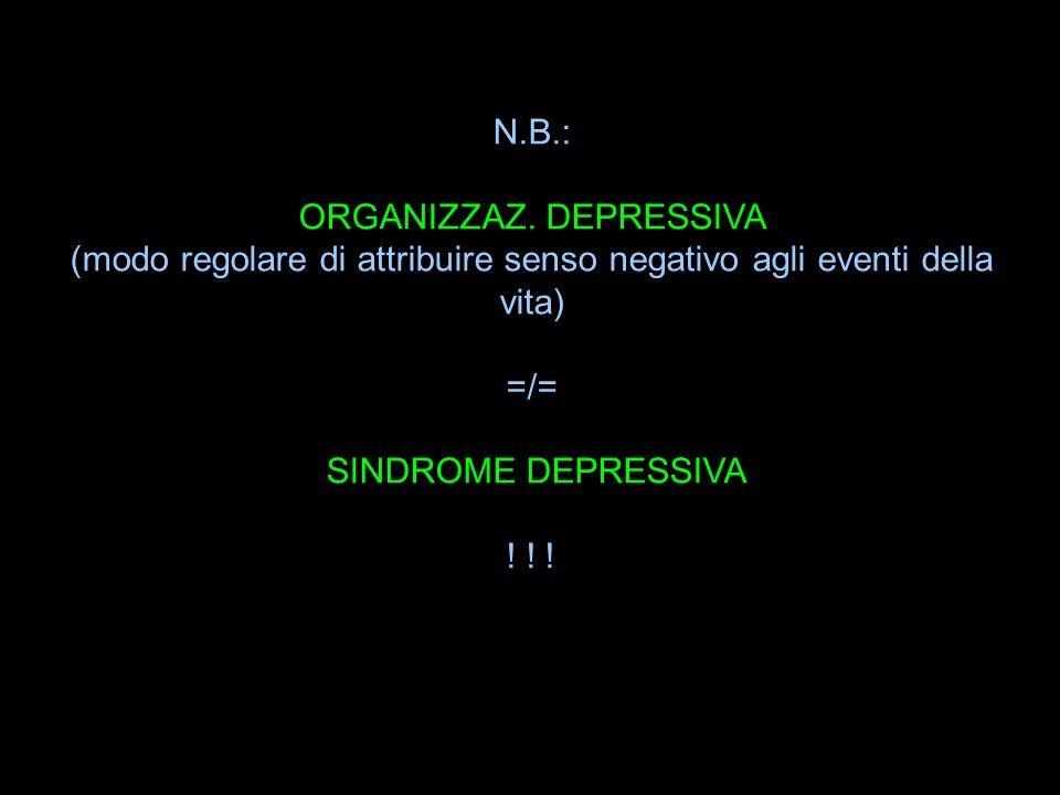 ORGANIZZAZ. DEPRESSIVA