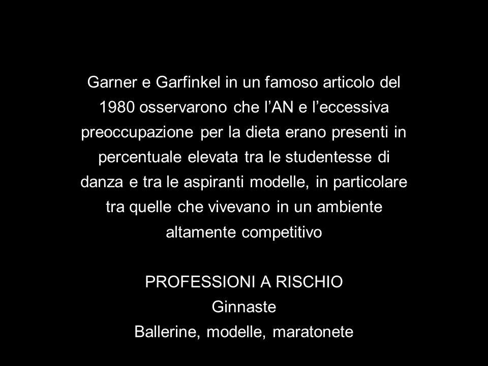 Garner e Garfinkel in un famoso articolo del