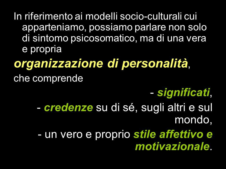 organizzazione di personalità,