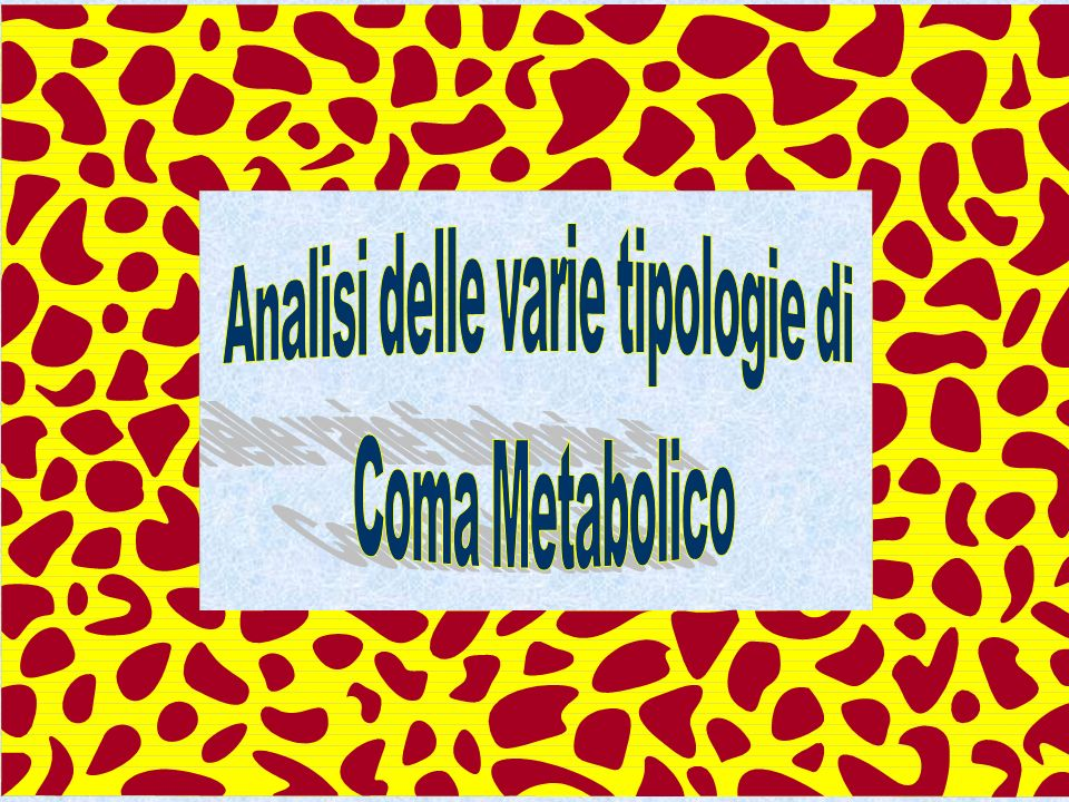 Analisi delle varie tipologie di