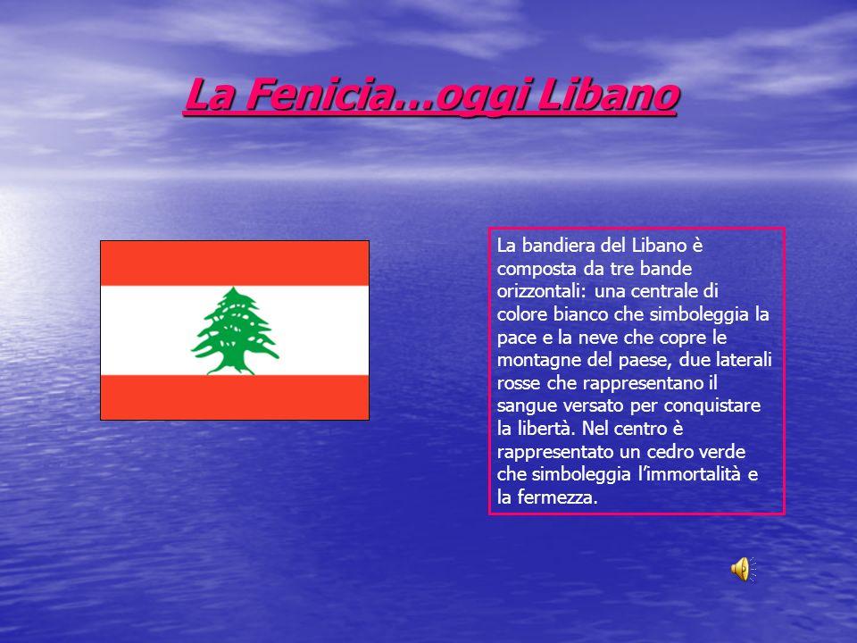 La Fenicia…oggi Libano