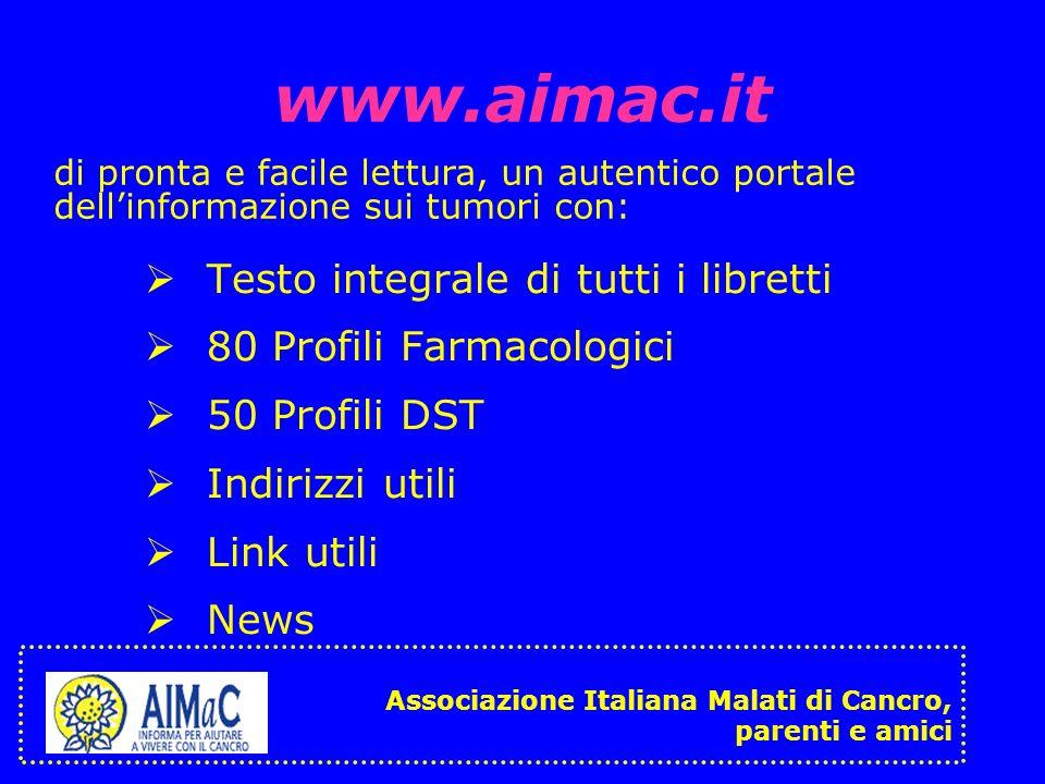 www.aimac.it Testo integrale di tutti i libretti