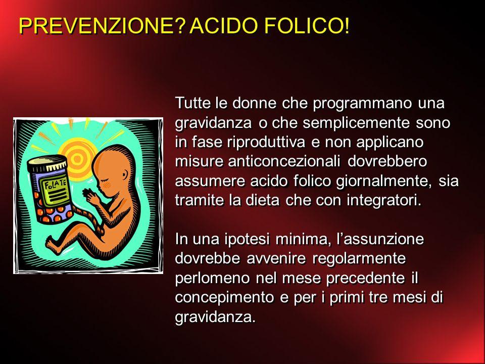 PREVENZIONE ACIDO FOLICO!