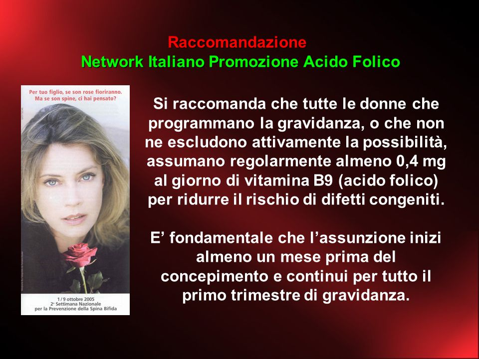 Network Italiano Promozione Acido Folico
