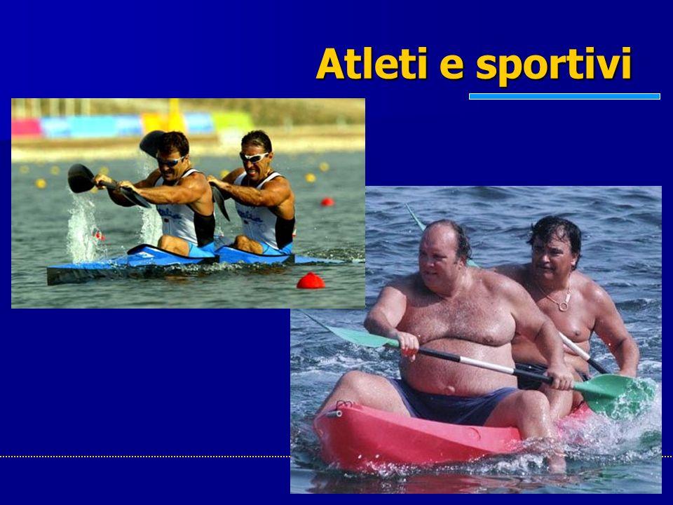 Atleti e sportivi