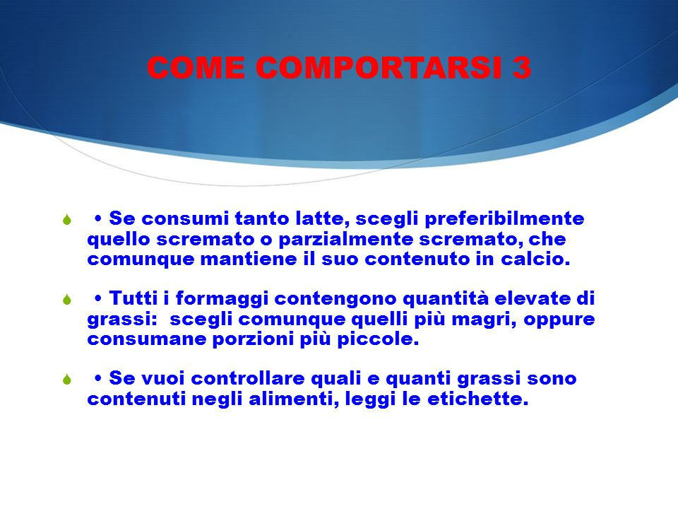 COME COMPORTARSI 3